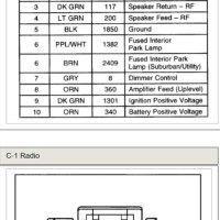 2001 Chevy Tahoe Ls Radio Wiring Diagram