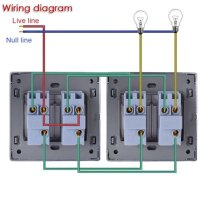 Two Gang Switch Wiring Diagram