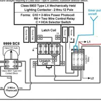 Wiring Diagram Mechanically Held Contactor